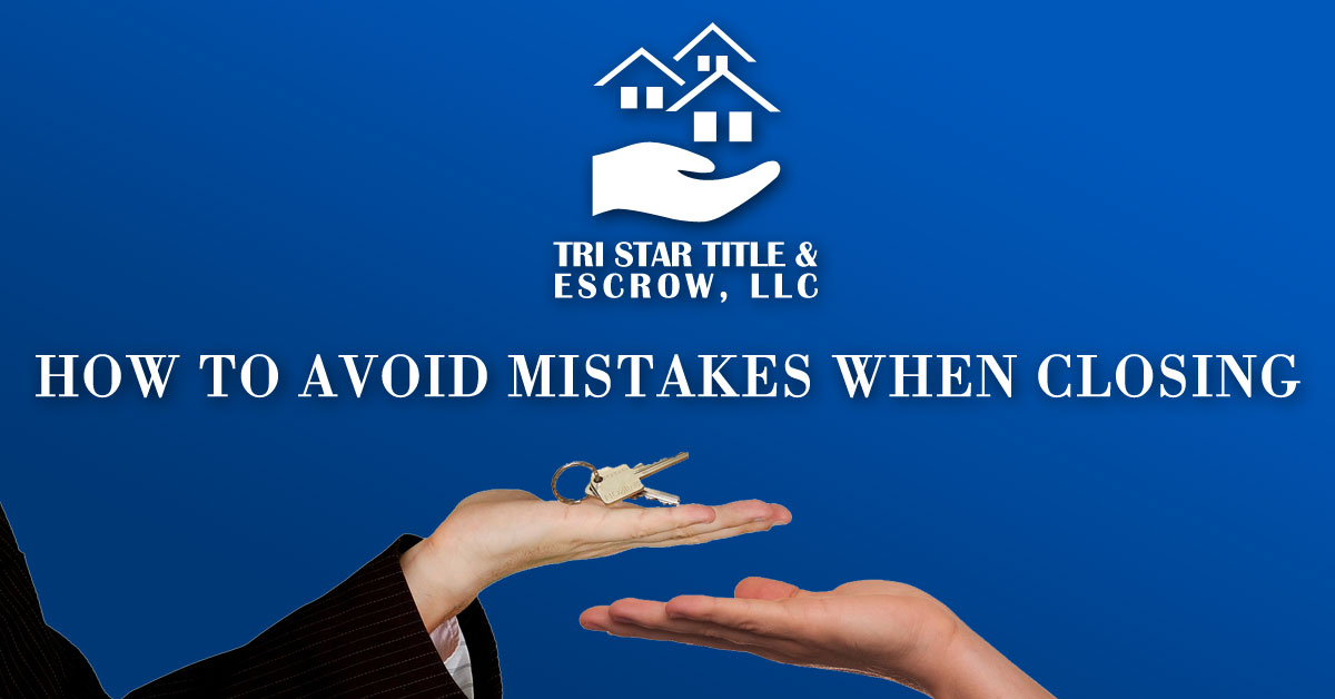 How to Avoid Mistakes When Closing - Insurance, Escrow, Settlement in Murfreesboro TN