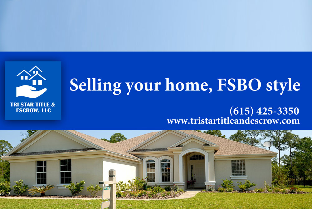 Selling your home, FSBO style - Insurance, Escrow, Settlement in Murfreesboro TN