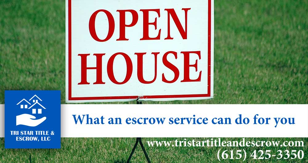 what an escrow service can do for you  - Insurance, Escrow, Settlement in Murfreesboro TN
